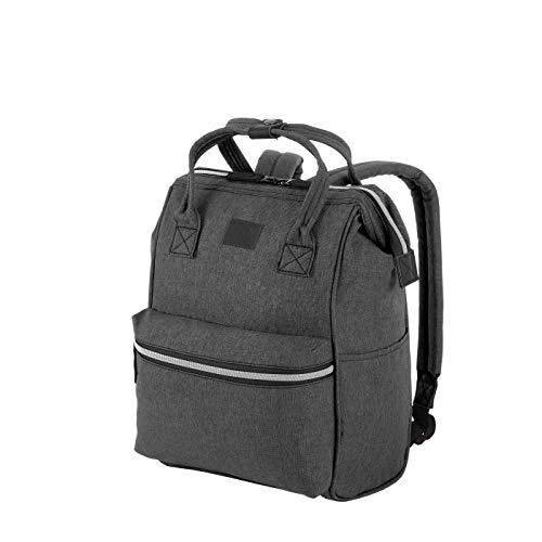 Rada Rucksack RS/19/M 14l Freizeitrucksack für Herren und Damen, Leichter Daypack für Jungen und Mädchen, geeignet für Arbeit und Sport, wasserabweisendes Polyester (Anthra)
