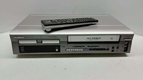 Lowest Price! Hitachi DV-PF2U DVD/VCR Combo DVD Player Video Cassette Recorder Player VCR w/ Hi Fi S...