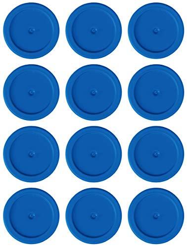 Tapes4you Ersatzchips für Looping Louie & Looping Chewie Chips Hasbro (12 Stück, Blau)