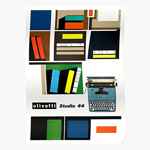 Generic Olivetti Retro Studio Italian Vintage Typewriter 44 Home Decor Wall Art Print Poster !