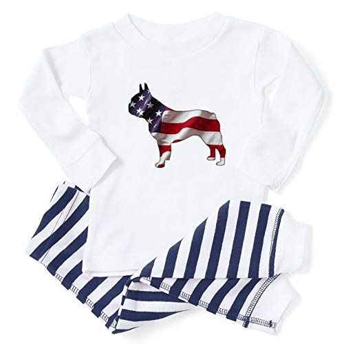 CafePress American Frenchie Toddler Long Sleeve Pajama Set