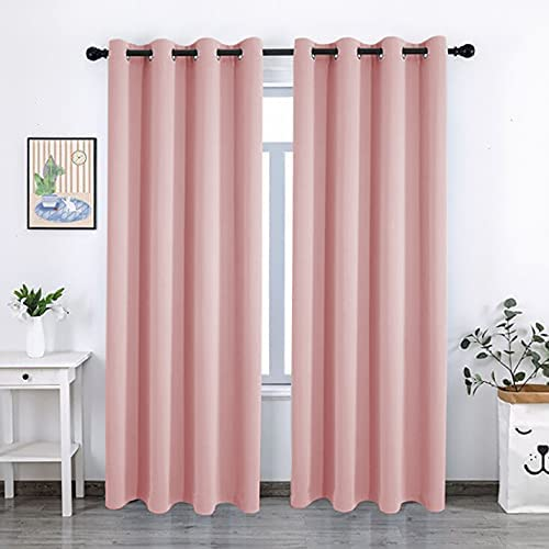 Mail order QSYFCTTEX Blackout Curtains Quantity limited for Bedroom Insula - Grommet Thermal