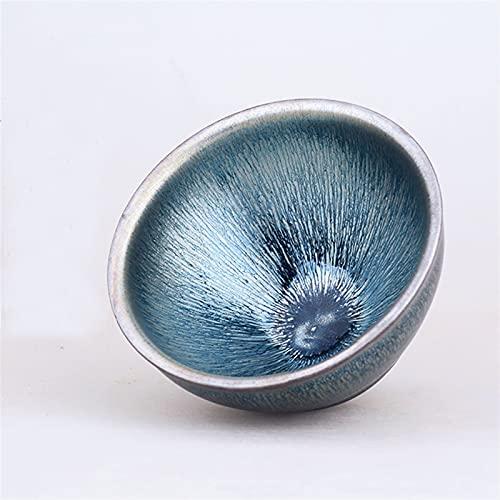 Theekopjes Theekopjes Handgemaakte keramische theekop Chinese Kung Fu Tea Set Cup en Saucer FQYXLX (Color : Blue)