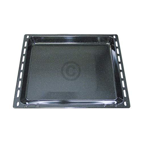 DL-pro Backblech 420x370x33 emailliert für AEG Electrolux Juno Zanker Zanussi 353193922/5 3531939225 für Backofen Herd