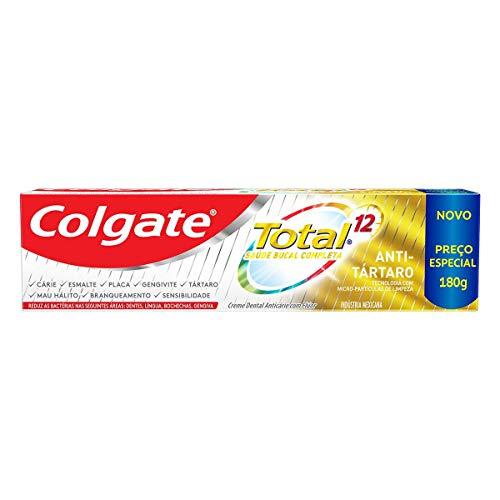 Creme Dental Colgate Total 12 Anti Tártaro 180G, Colgate