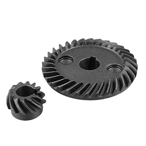 ZC Engranajes Nuevo Conjunto de Engranajes de Bisel de Espiral de Metal para makita 9523 Angular de ángulo de lijadora Metal