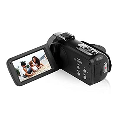 4K Camcorder Video Camera Ultra HD Wi-Fi Vlogging Camera 48.0MP 16X Digital Zoom Camcorders with IR Night Vision &Microphone Digital Camera 3.0 inch Touch Screen with Remote Control by Lincom Tech