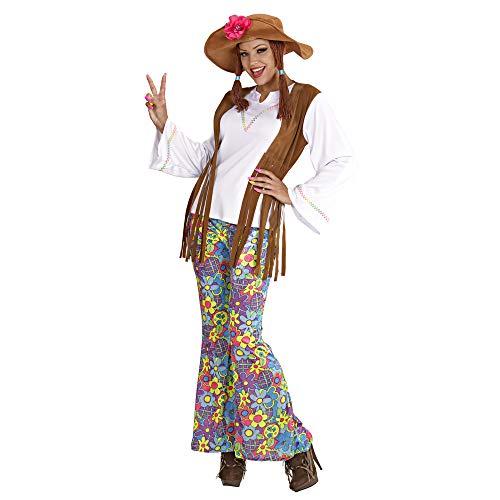Widmann Costume de Dame Hippie Woodstock Taille : m
