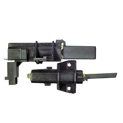 Kit de 2 carbones (312865-19606) para lavadora C00196554, 481236248004 Ariston Hooot Hotpoint.