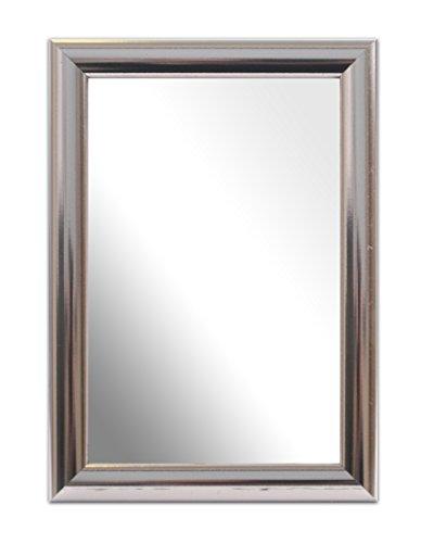 Inov8, Specchio con cornice, ca. 15 x 10 cm, Argento (Chrom - Value Chrome)