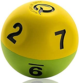 Qball Pro - Reaction Ball - World's Fastest Trainer! - Now Lighter - More Erratic - Moderate Erratic Bounce. Allows Fast Bouncing and catching Without Chasing - Fast Results