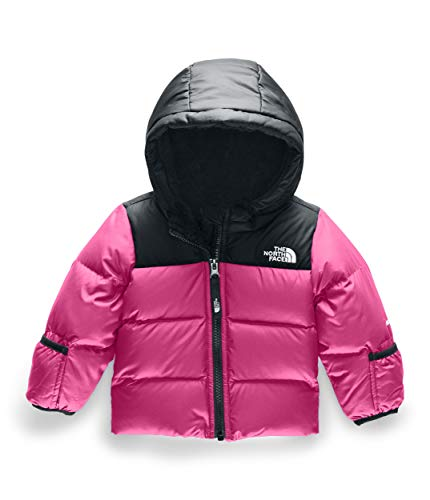 The North Face Infant Moondoggy 2.0 Down Jacket, Mr. Pink, 3-6 Months