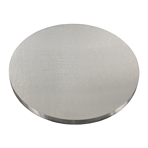 Edelstahl Ronde V2A Ø 30-150mm Ankerplatte Flansch Deckel Bodenplatte Platte #20