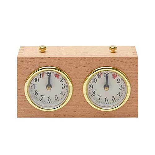 Schach-Timer, Professionelle Schachuhr Spiel-Timer Analoge Uhr Schach-Timer Count-Up Countdown-Timer, Internationale Schach-Timer-Uhr