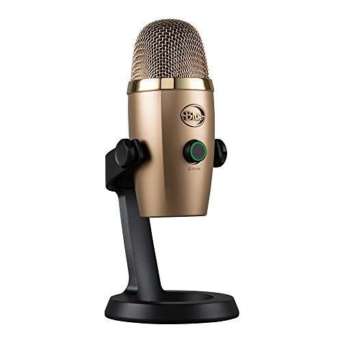 Blue Yeti Nano Premium USB Mic for Recording and Streaming - Cubano Gold