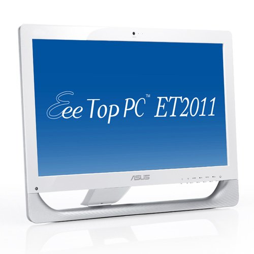 Asus ET2011E 50,8 cm (20 Zoll) All-in-One Desktop-PC (Intel Pentium E5700, 3GHz, 2GB RAM, 320GB HDD, GMA X4500, DVD, Win 7 HP)