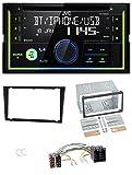 JVC KW-R930BT MP3 Bluetooth USB CD 2DIN AUX Autoradio für