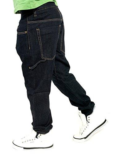 Brooklyn Mint Carpenter Carrot Fit Jeans Dark Indigo