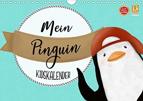 Mein Pinguin Kidskalender (Wandkalender 2021 DIN A4 quer): Dieser Pinguin wird dein Herz erobern (Monatskalender, 14 Seiten ) (CALVENDO Tiere)
