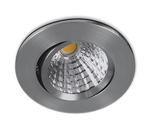 COB LED Downlight rond Blanc 7 W Intensité variable IP20