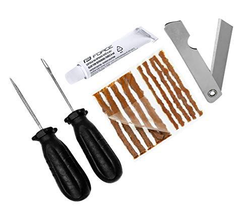 Force Tubeless bandenreparatieset reparatieset met gereedschap