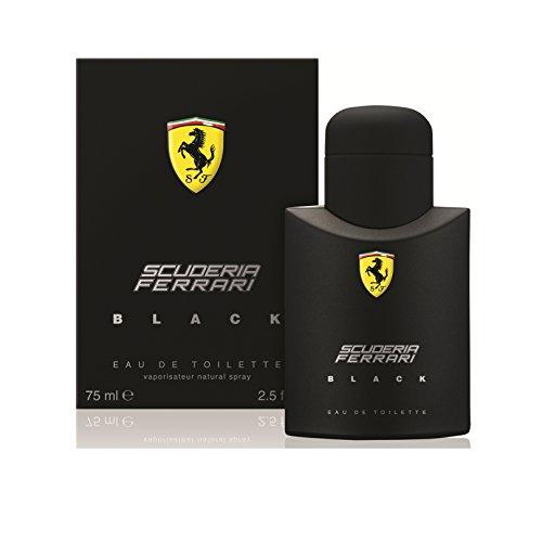 Ferrari Scuderia Ferrari Black Edt Vapo 75 Ml 1 Unidad 70 g