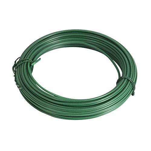 Greengeers 93053 Fil de Fer Plastifie, Vert