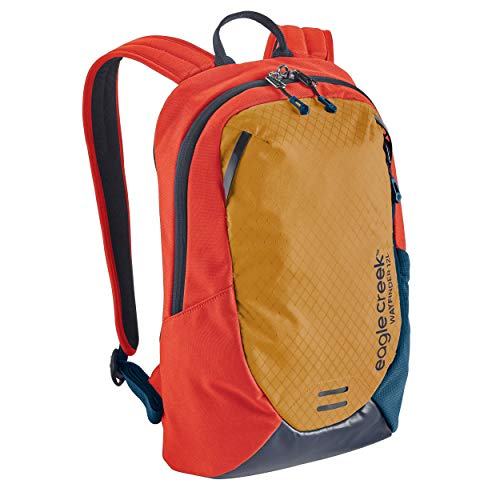 Eagle Creek WAYFINDER Tagesrucksack mit 12 L I Daypack mit Tablet-Fach I Sahara Yellow