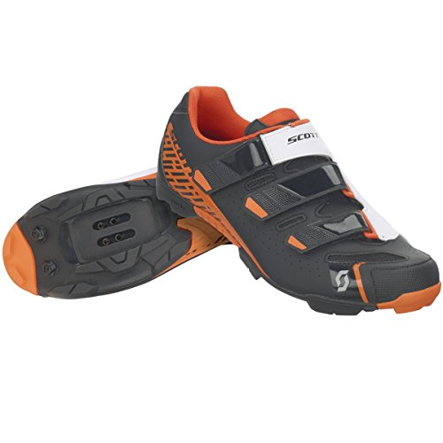 Scott 251834, Zapatillas MTB Comp RS MT BK/NE Ora 47.0 Unisex Adulto