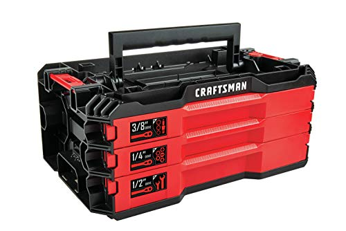 CRAFTSMAN Mechanics Tools Kit with 3 Drawer Box, 216-Piece (CMMT99206)