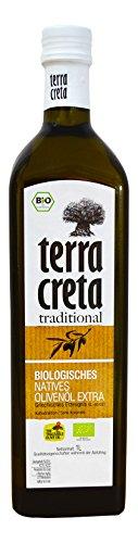 Terra Creta Biologisches extra natives Olivenöl aus Kolymvari-Kreta 1-Liter