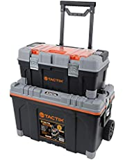 Tactix 26 inch 2 in 1 Rolling Tool Box Set - TTX-320308  W 69.6 x H 49.2 x D 39.4 cm