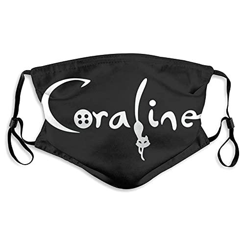 CDKZ Coraline Máscara de moda con filtro unisex para adultos al aire libre