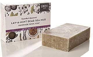 Earth Luxe Handmade Facial Soap- Lav-a-mint Dead Sea Mud