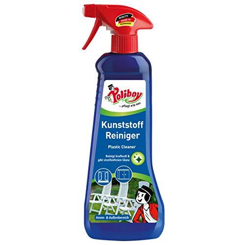 Poliboy – Limpiador de plástico/muebles de jardín – para interiores y exteriores – Spray de 500 ml – Fabricado en Alemania