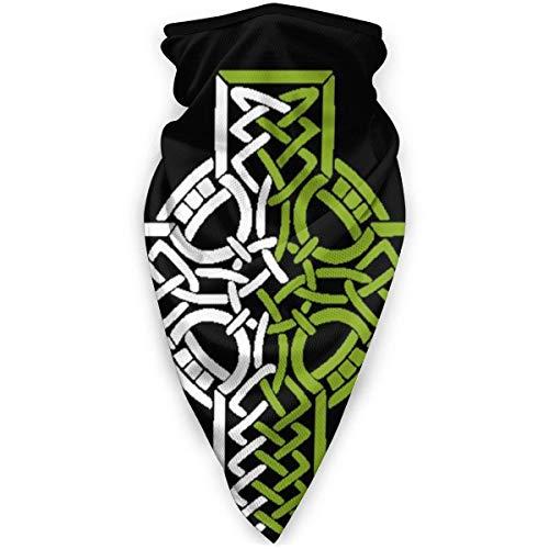 NA Bandana De Bouclier De Visage,Bandana De Foulard De Tête De Viking Croix Nordique Celtique, Bandeau De Protection UV Décoratif pour La Chasse Escalade Sport,24X52Cm