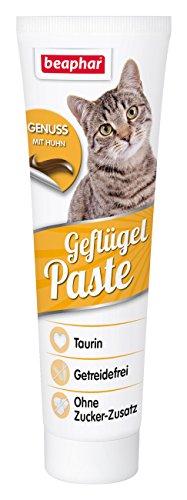 Beaphar Geflügel Paste für Katzen, Enthält Taurin & Omega 3 (1 x 100 g)