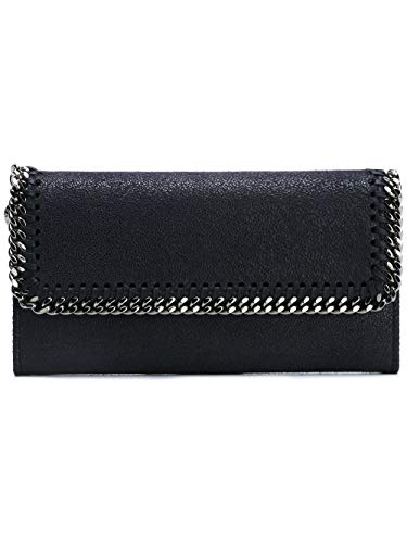Luxury Fashion | Stella Mccartney Woman 430999W91324061 Blue Polyester Wallet | Fall Winter 19