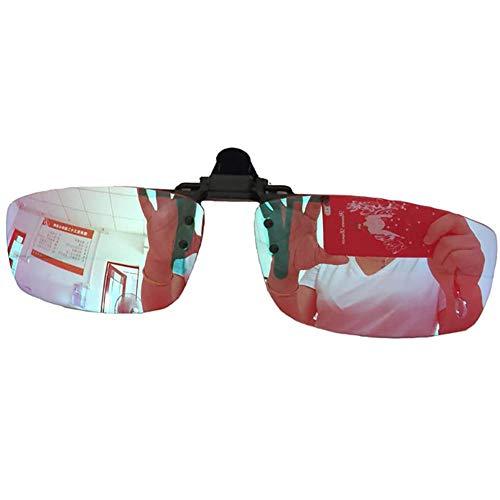 Jakroo Corrección del Daltonismo Y Mujer Gafas con Lente para Daltónicos Pacientes Que Conducen, Clip para Gafas de Miopía Gafas para Daltónicos.