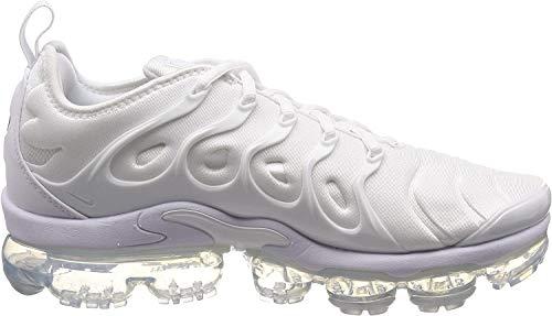 Nike Air Vapormax Plus, Chaussures de Fitness Homme, Blanc (White/White/Pure Platinum 100), 44 EU