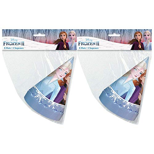 Buy Frozen 2 Children's Birthday Party Favors 8 ct Party Hats (2 Pack)