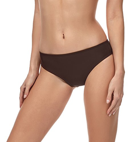 Merry Style Damen Bikini Slip MSVR1 (Braun (8157), 40)