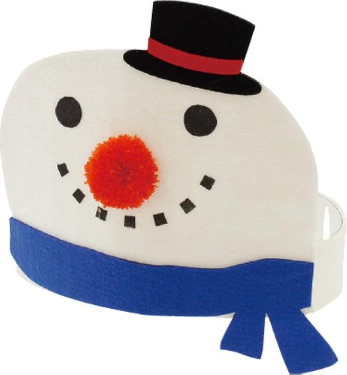 別のラフレイ丸和貿易 クリスマス仮装 スウィーティークリスマス ヘッドマスク スノーマン 400817502