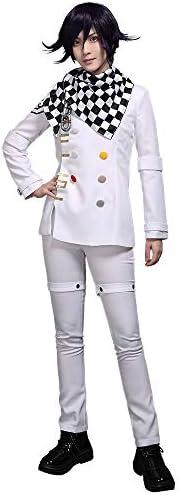 Cosplay.fm Women/'s Kokichi Oma School Uniform Cosplay Costume Outfit Tops Pants Scarf