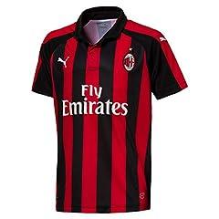 Puma Camiseta AC Milan 1ª Equipación 2018/2019 Hombre Niños