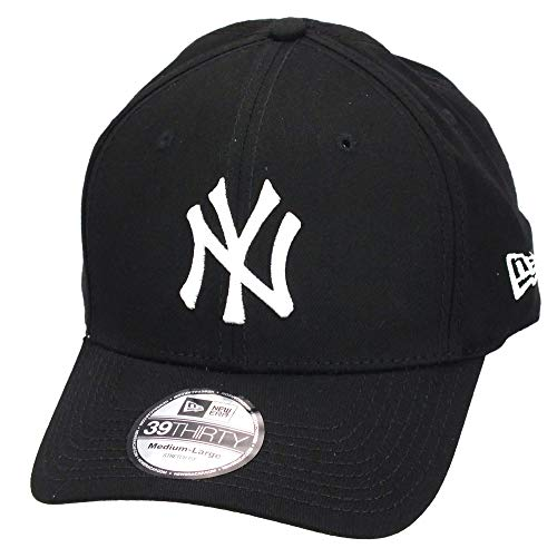 New Era 39Thirty Flexfit Casquette - NY Yankees Noir/Blanc