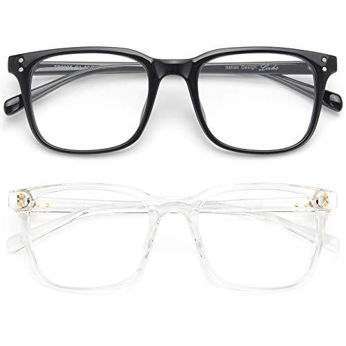 2 Packof Livho Blue Light Blocking Computer Eyeglasses Now $3.20 (Was $16)