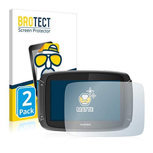 BROTECT 2X Entspiegelungs-Schutzfolie kompatibel mit Tomtom Rider 420 Bildschirmschutz-Folie Matt, Anti-Reflex, Anti-Fingerprint
