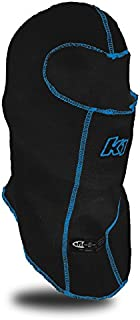 K1 Race Gear Double Layer Nomex Head Sock/Balaclava (Black)