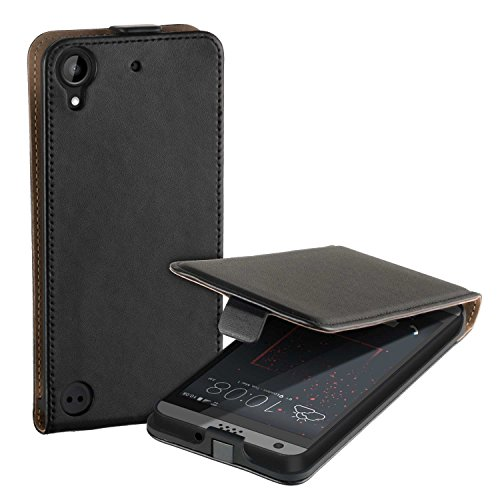 yayago Flip Tasche für HTC Desire 530 / Desire 630 Hülle Flip Hülle Schwarz